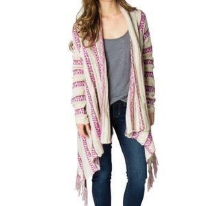 Billabong | Crochet Cardigan with Tassles